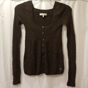 Abercrombie & Fitch Long sleeve sweater Size L